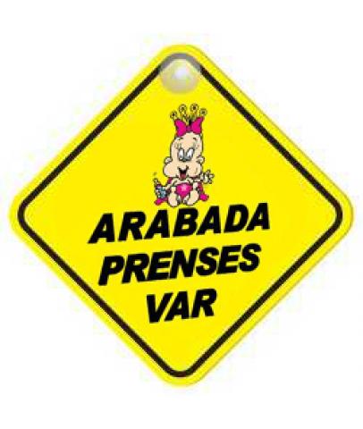 ARABADA PRENSES VAR VANTUZLU